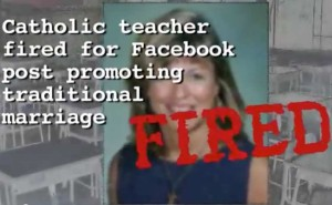 Victory!  Fired Catholic Theology Teacher Gets Job Back!