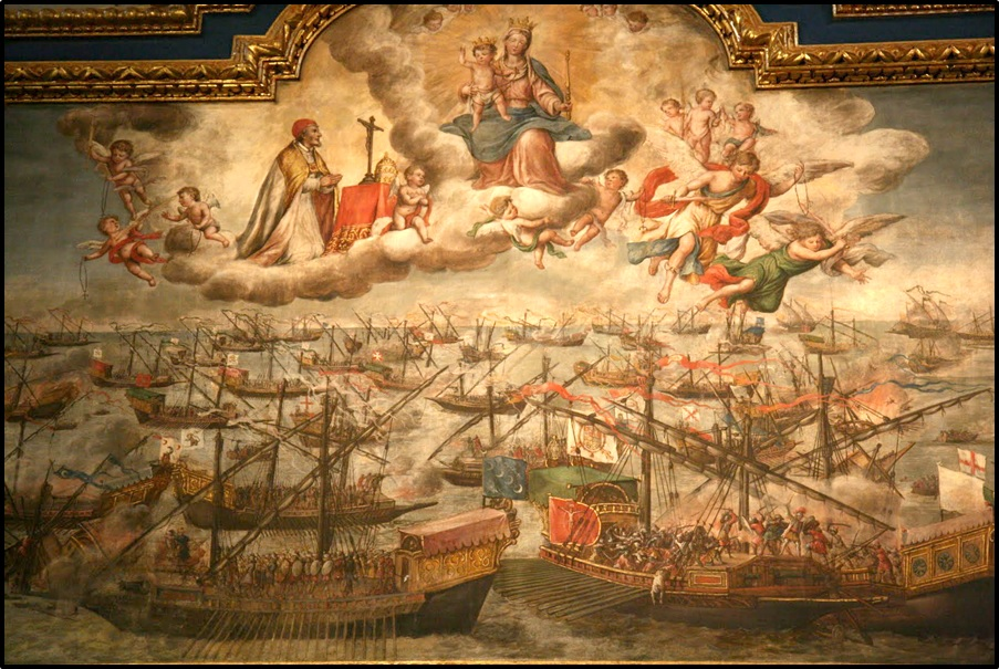 Image result for our lady of lepanto