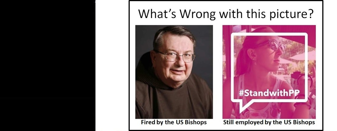 US Bishops Sack Faithful Priest, Still Employ Planned Parenthood Supporter