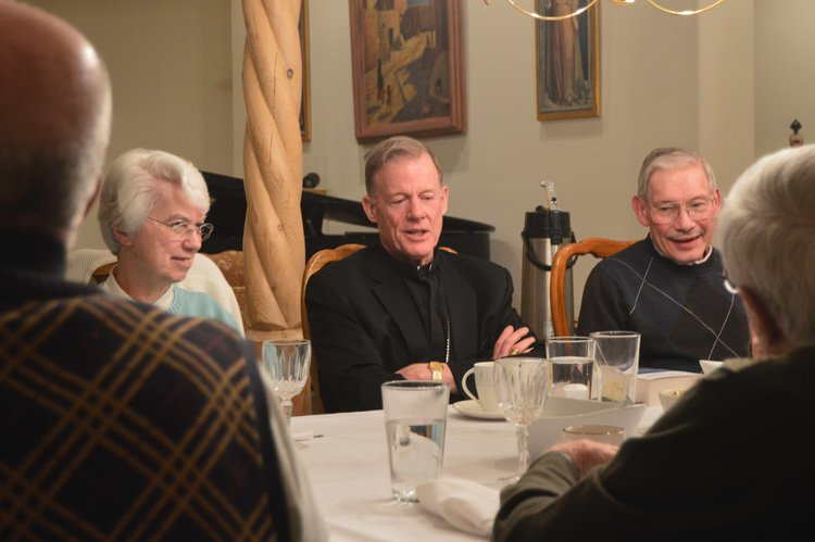 Archbishop Wester hosts AUSCP leadership team